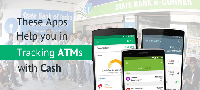 These Apps Help you in Tracking ATMs with Cash-WeDigTech